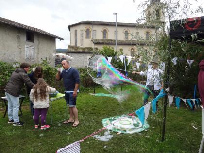 Les bulles géantes
