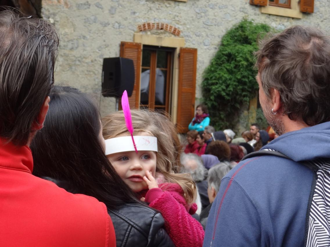 Une petite Urauquoise dans le public