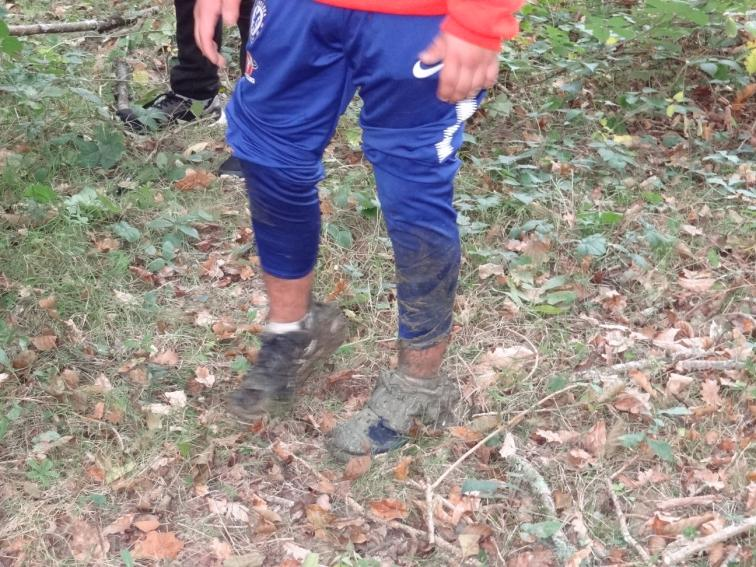 Le sol se dérobe sous mes pas!