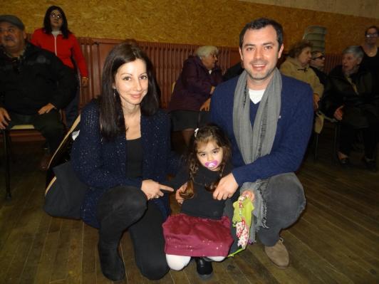 David Heuillet et sa famille