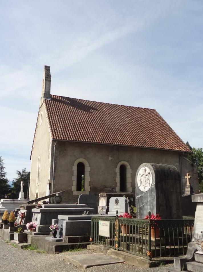 L'actuelle chapelle sur le site de l'église Saint Pierre