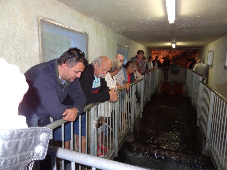 Visite du captage des eaux de la Barousse